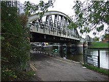 TF3244 : Railway bridge over the River Witham, Boston by JThomas