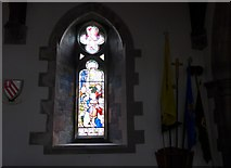 SD5095 : St Oswald, Burneside: stained glass window (A) by Basher Eyre