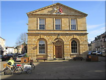 SP4416 : Woodstock Town Hall by Chris McAuley