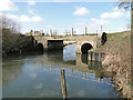 TG2521 : Roadbridge over the River Bure by Adrian S Pye