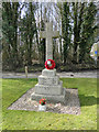 TG2723 : Scottow War Memorial by Adrian S Pye