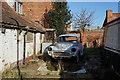 TA2227 : A rusting Morris Minor in Burstwick by Ian S