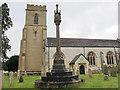 TQ2550 : St Mary's, Reigate: Freshfield monument by Stephen Craven