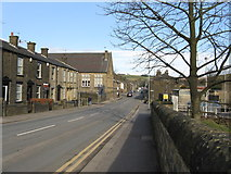 SD9311 : Newhey:  Huddersfield Road by Dr Neil Clifton