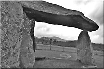SN0937 : Pentre Ifan - looking west by Deborah Tilley