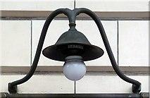 TQ2882 : Lamp holder, Great Portland Street Underground Station by Julian Osley