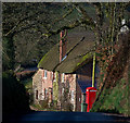 SS7713 : A cottage at Boundy's Cross by Roger A Smith