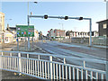 TM5492 : The north side of the Bascule Bridge early on a Sunday morning by Adrian S Pye