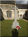 TM1176 : War Memorial  at St.Margaret's Church by Adrian Cable