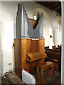 TM1176 : Organ of St.Margaret's Church by Adrian Cable