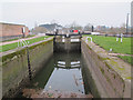 SO8453 : Barge Lock no 1, Diglis Basin by Stephen Craven