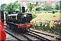 SZ0278 : Swanage Railway: 6412 at Swanage station by Jonathan Hutchins