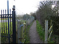 SD5306 : Footpath from Gathurst Road to Spring Road, Orrell by Gary Rogers