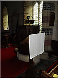 TM1377 : Lectern & Pulpit of All Saints Church by Adrian Cable