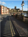 SO8454 : South Quay, Worcester by Philip Halling