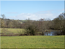 SS6613 : The River Taw at Little Dart Pool by Roger A Smith