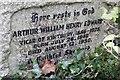SU5984 : Arthur William Henry Edwards by Bill Nicholls