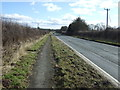 SE9958 : Path beside the A166 by JThomas