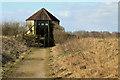 SE8833 : Turret Hide, February view by Pauline E