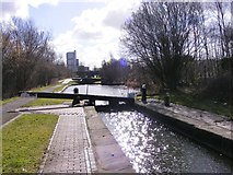 SO9199 : Lock 7 View by Gordon Griffiths