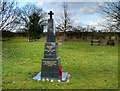 SJ8282 : The War Memorial on Morley Green by David Dixon