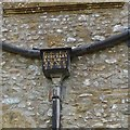 ST3505 : Unusual drainpipe, Forde Abbey by Becky Williamson