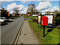 TM0477 : B1113 The Street & Old Post Office Postbox by Adrian Cable