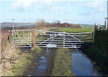 SE0722 : Gate on the Calderdale Way by Humphrey Bolton