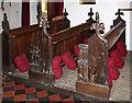 TL6467 : St Peter, Snailwell - Pews by John Salmon