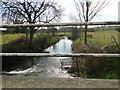TM2360 : River Deben at Brandeston Bridge by Adrian S Pye