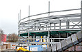 J3272 : The new South and Railway Stands, Windsor Park, Belfast (March 2015) by Albert Bridge