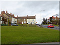 NZ2422 : Top end of Heighington village green by Oliver Dixon
