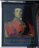 SK3975 : Sign for The Wellington, New Whittington by JThomas