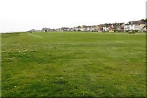SZ2492 : The green by Marine Drive East by Steve Daniels