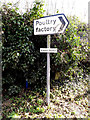 TM0478 : Roadsign on Fen Street by Adrian Cable