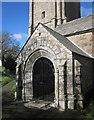 SX3173 : Porch, Church of St Melor, Linkinhorne by Derek Harper