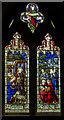 TQ6018 : Nativity window, St Mary's church, Warbleton by Julian P Guffogg