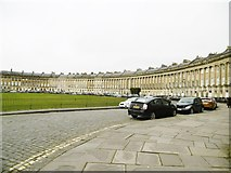 ST7465 : Bath, Royal Crescent by Mike Faherty