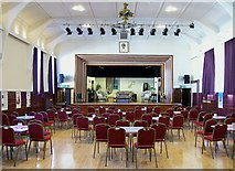 TF0920 : Inside the Corn Exchange at Bourne, Lincolnshire by Rex Needle