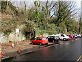 ST0790 : Ynysangharad Road parking area, Pontypridd by Jaggery