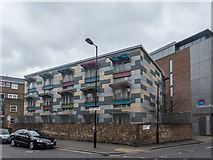 TQ3179 : Colourful Flats, Webber Street, London, SE1 by Christine Matthews