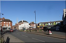 SO8554 : New plaza for Worcester by Andrew Darge