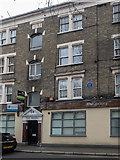 TQ3179 : Building with Blue Plaque, Webber Street, London SE1 by Christine Matthews