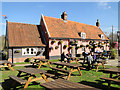 TM2743 : The Fox pub and restaurant at Newbourne by Adrian S Pye