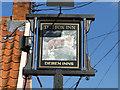 TM2743 : The Fox Inn sign by Adrian S Pye