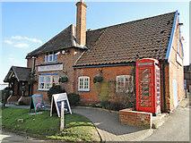 TM2844 : The Maybush, pub and restaurant, Waldringfield by Adrian S Pye