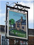 TM2844 : The Maybush pub sign by Adrian S Pye