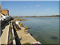 TM2844 : Quayside on the Deben by Adrian S Pye