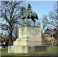 SJ4065 : Equestrian Statue of Viscount Combermere by Jeff Buck