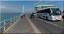 SY6878 : Bluebird near the Pavilion, Weymouth by Jaggery